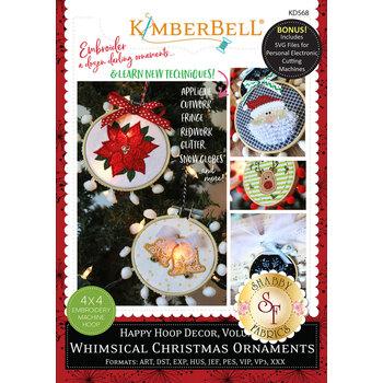 Happy Hoop Decor, Volume 1: Whimsical Christmas Ornaments