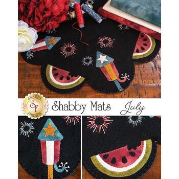 Shabby Mats - July - Wool Kit