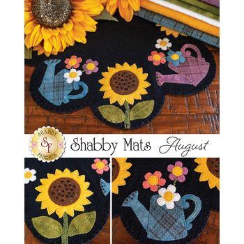 Shabby Mats - August - Wool Kit