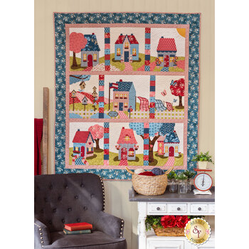 Welcome Home In Summer Quilt - Laser Cut Kit