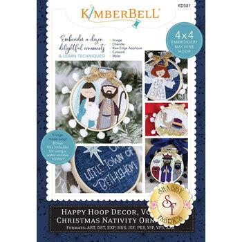 Happy Hoop Decor, Volume 2: Christmas Nativity Ornaments