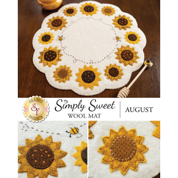 Simply Sweet Mats - August - Wool Kit