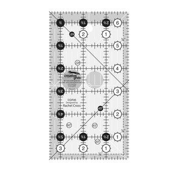 "Creative Grids - 3½"" x 6½"" Ruler #CGR36"