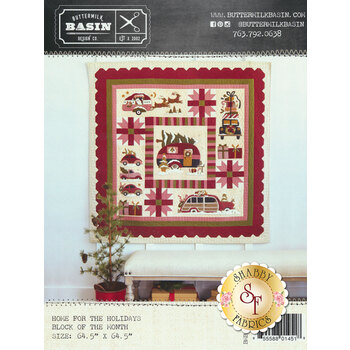 Home For The Holidays - Block Of The Month - Pattern
