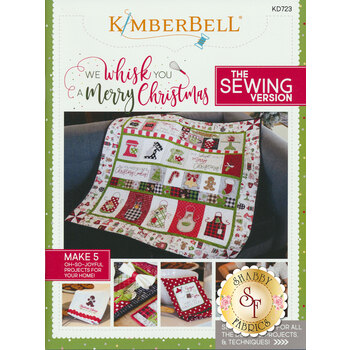 We Whisk You A Merry Christmas Book - Sewing Version