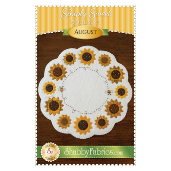 Simply Sweet Mats - August - Pattern