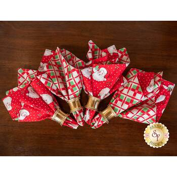 Cloth Napkins Kit - Swell Christmas - Makes 4