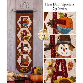Hexi Door Greeters - September - Wool Kit