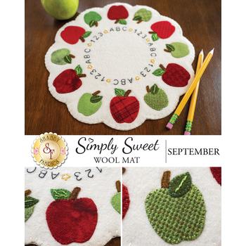 Simply Sweet Mats - September - Wool Kit