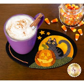 Wooly Mug Mat Series - October - Wool Kit