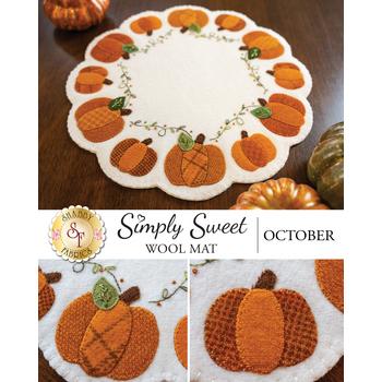 Simply Sweet Mats - October - Wool Kit
