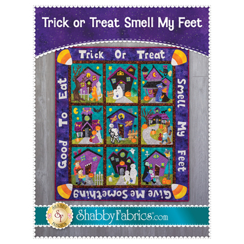Trick Or Treat Smell My Feet - Pattern
