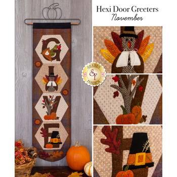 Hexi Door Greeters - November - Wool Kit