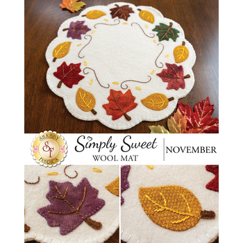 Simply Sweet Mats - November - Wool Kit