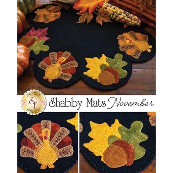 Shabby Mats - November - Wool Kit