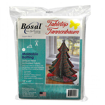 Bosal Tabletop Tannenbaum Moldable Batting