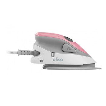 Oliso Mini Iron With Trivet - Pink