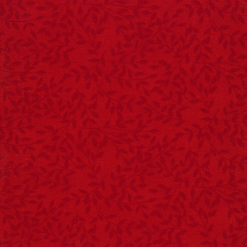 Cultivate Kindness 19934-14 Truck Red Leaves by Deb Strain for Moda Fabrics