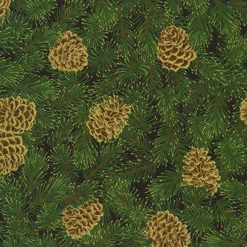 Holiday Flourish 13 19253-2 Black by Robert Kaufman Fabrics