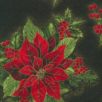 Holiday Flourish 13 19257-2 Black by Robert Kaufman Fabrics