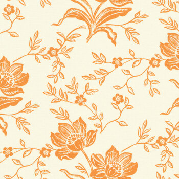 All Hallow's Eve 20350-16 Ghost Pumpkin by Fig Tree Quilts for Moda Fabrics