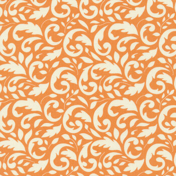 All Hallow's Eve 20351-11 Pumpkin by Fig Tree Quilts for Moda Fabrics