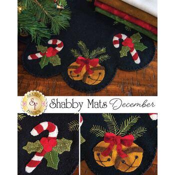 Shabby Mats - December - Wool Kit