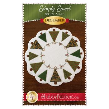 Simply Sweet Mats - December - Pattern