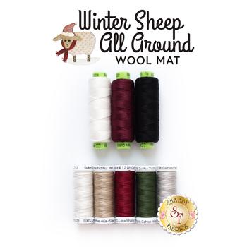 Winter Sheep All Around - 8pc Thread Set