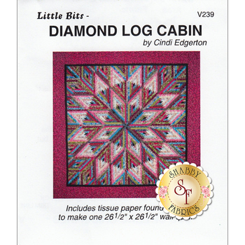 Diamond Log Cabin Pattern