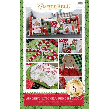 Ginger's Kitchen Bench Pillow Pattern