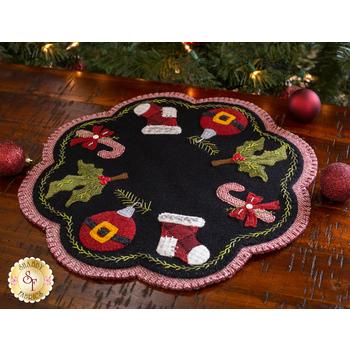 Santa Baby Penny Mat - Wool Kit
