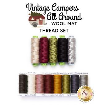 Vintage Campers All Around - 13pc Thread Set