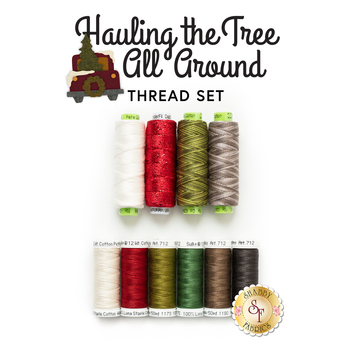 Hauling The Tree All Around - 10pc Thread Set