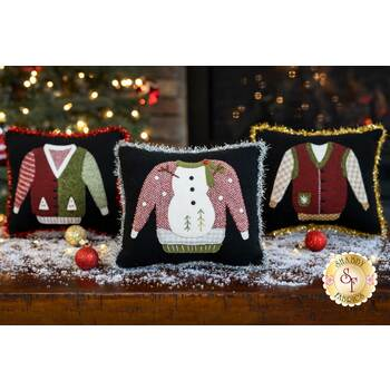 Ugly Sweater Pillows - Wool Kit