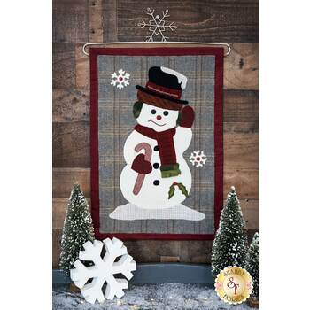 Jolly Snowman Wall Hanging - Wool Kit