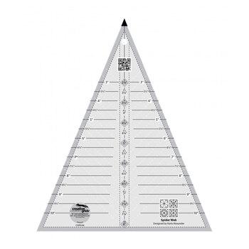 Creative Grids Spider Web Quilt Ruler #CGRKA6