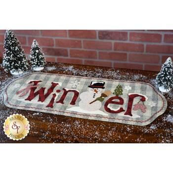 Frosty's Winter Table Runner - Wool Kit