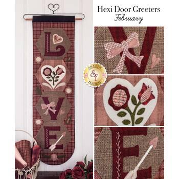 Hexi Door Greeters - February - Wool Kit