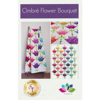 Ombre Flower Bouquet Pattern