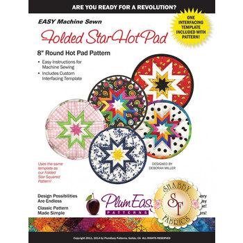 Folded Star Hot Pad Pattern - 8