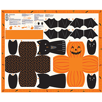 Ghouls And Goodies 20680-11 Panel by Stacy Iest Hsu for Moda Fabrics