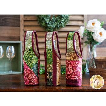 Quilt As You Go Wine Totes Kit - Vino Batiks