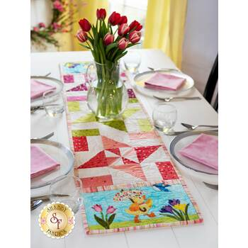Easy Pieced Table Runner Series - March - Kit