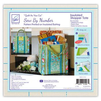 Quilt As You Go Pre-Printed Batting - Insulated Shopper Tote