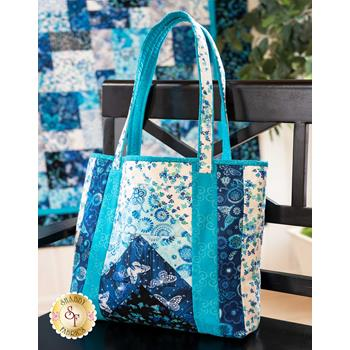 Quilt As You Go Tori Tote Kit - Social Butterfly