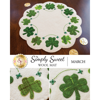 Simply Sweet Mats - March - Wool Kit