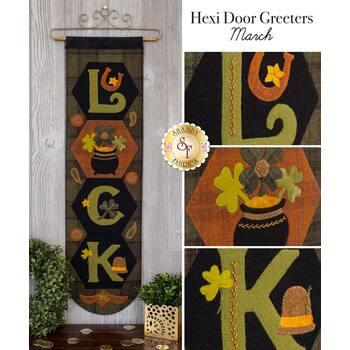 Hexi Door Greeters - March - Wool Kit