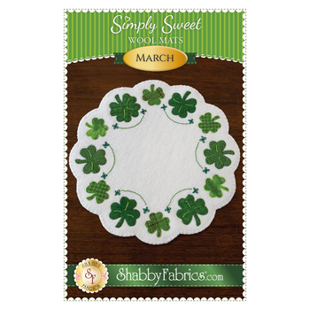 Simply Sweet Mats - March - Pattern