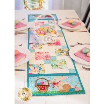 Easy Pieced Table Runner Series - April - Kit